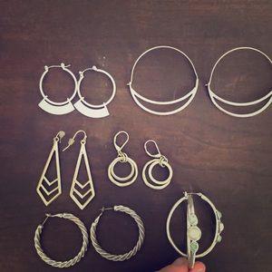 Lot of earrings!
